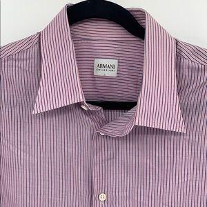 Armani Collezioni Dress Shirt (16.5)